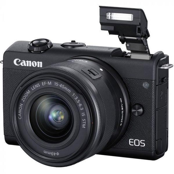 Canon EOS M200 Mirrorless Camera with 15-45mm IS STM Lens-Cameratek