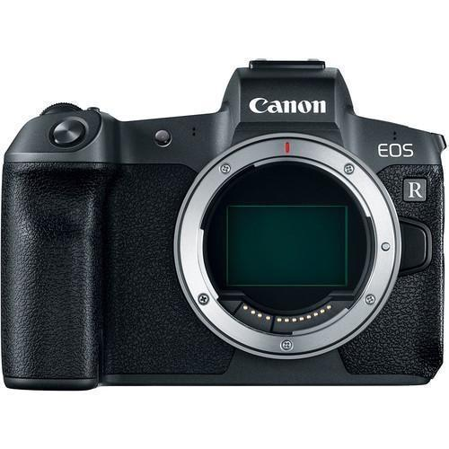 Canon EOS R Mirrorless Digital Camera (Body Only) + EF Mount adapter-Cameratek