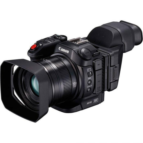 Canon XC15 4K Professional Camcorder (Pal)  Cameratek