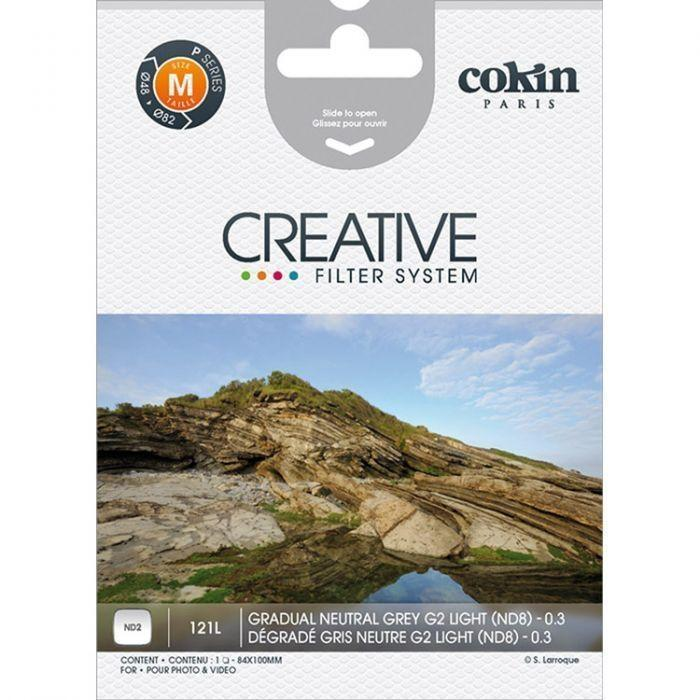 Cokin P 121L Gradual Neutral Grey G2 ND2  Cameratek