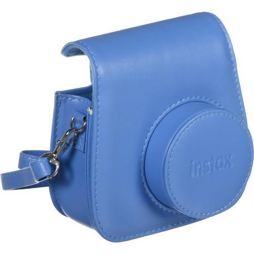 FUJIFILM Groovy Camera Case for INSTAX Mini 9 Cobalt Blue-Cameratek