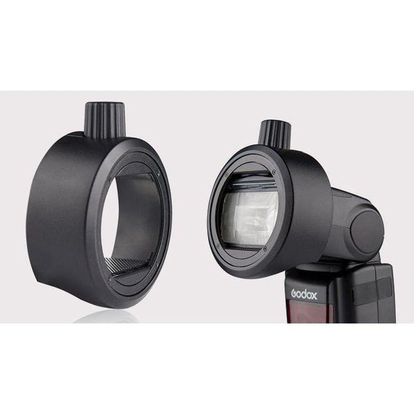 GODOX S-R1 Round Head Accessory Adapter-Cameratek