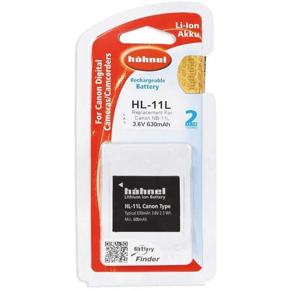 Hahnel HL-11L Lithium Ion Battery for Canon-Cameratek
