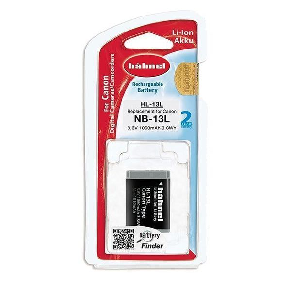 Hahnel HL-13L Lithium Ion Battery for Canon-Cameratek