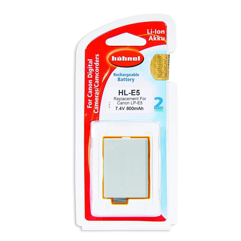 Hahnel HL-E5 Lithium Ion Battery for Canon-Cameratek