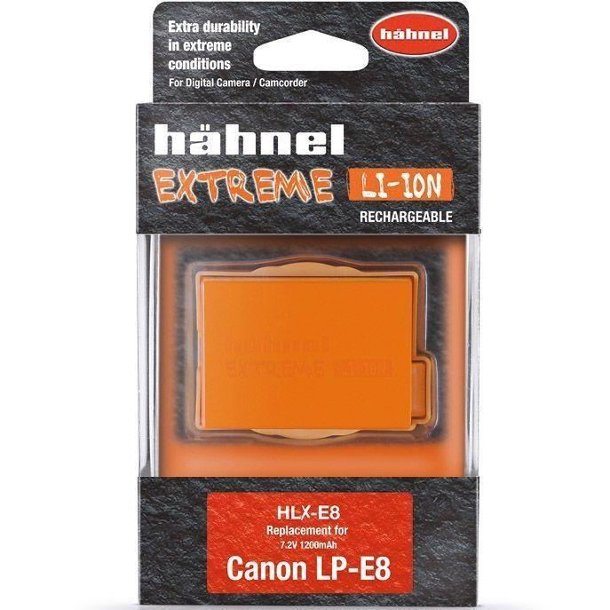 Hahnel HLX-E8N Extreme High Capacity Battery Pack for Canon LP-E8  Cameratek
