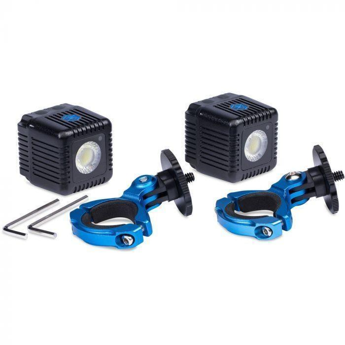 Lume Cube Lighting Kit for DJI Inspire and Matrice Drones- 2 Lume Cubes + 2 Drone Mounts-Cameratek