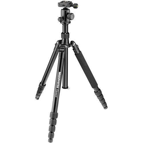 Manfrotto Element Traveller Big Black Tripod with Ball Head-Cameratek