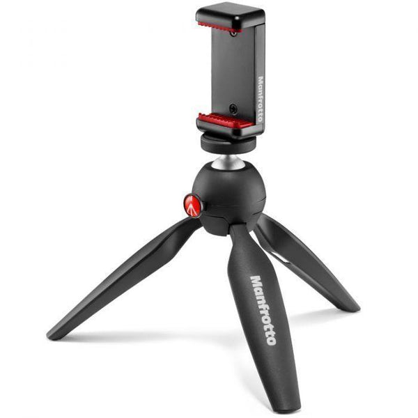 Manfrotto Pixi Smart Mini Tripod with Universal Smartphone Clamp-Cameratek