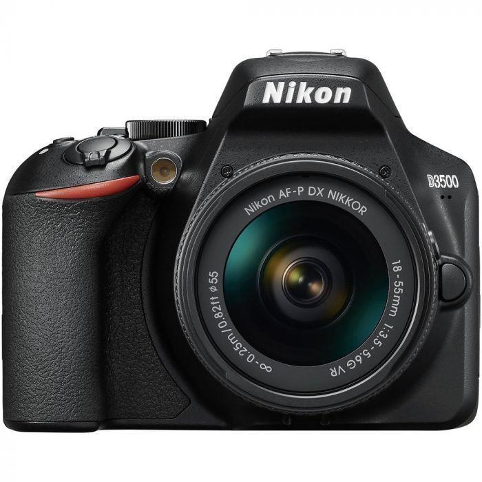 Nikon D3500 DSLR Camera with AF-P DX 18-55mm f/3.5-5.6G VR Lens-Cameratek