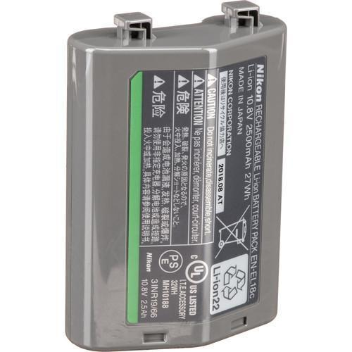 Nikon EN-EL 18c Rechargeable Lithium-Ion Battery (10.8V, 2500mAh)-Cameratek