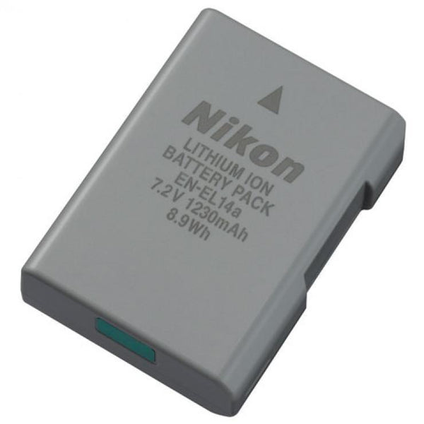 Nikon EN-EL14a Lithium-Ion Battery (1230mAh)-Cameratek