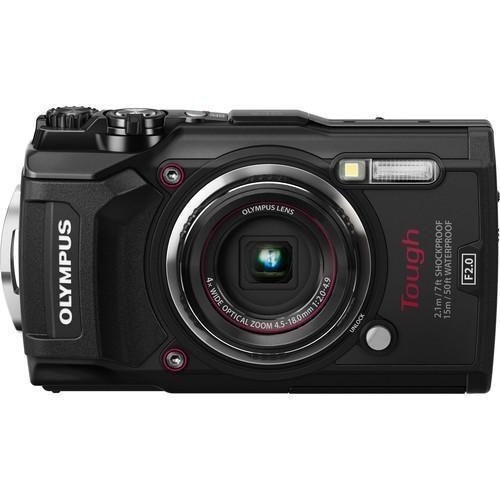 Olympus Tough TG-5 Black  Cameratek
