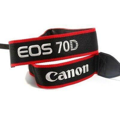 Original Canon Neck Strap for EOS 70D-Cameratek
