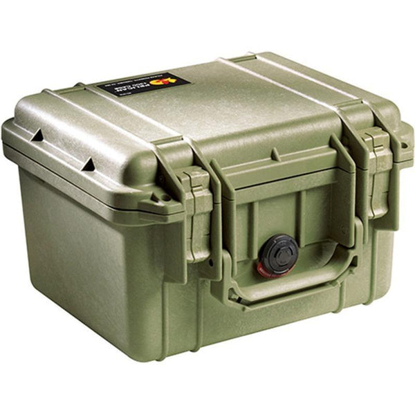 Pelican 1300 Protector Case Green  Cameratek