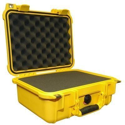 Pelican 1400 Protector Case Yellow-Cameratek