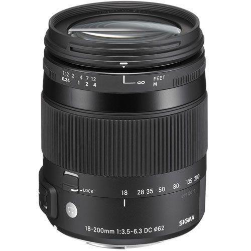 Sigma 18-200mm f3.5-6.3 DC OS HSM Contemporary for Canon-Cameratek