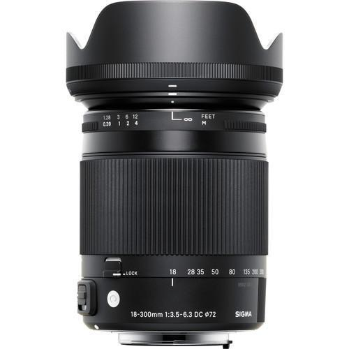 Sigma 18-300mm f3.5-6.3 DC MACRO OS HSM Contemporary for Canon-Cameratek
