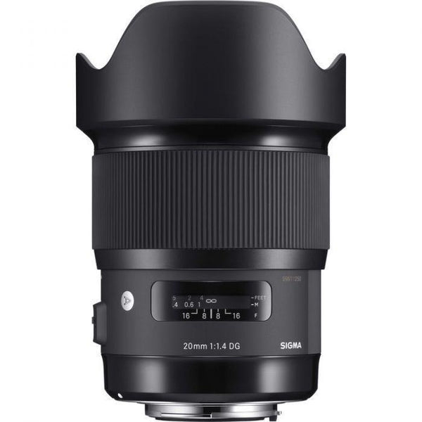Sigma 20mm f/1.4 DG HSM Art Lens (Sony E)-Cameratek