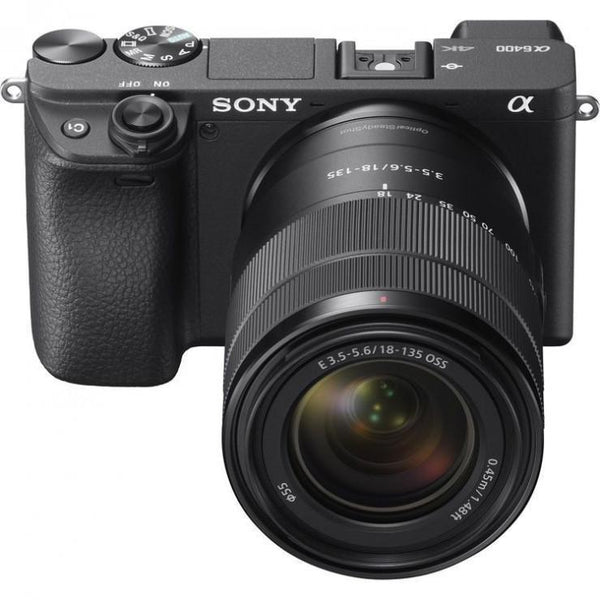 Sony Alpha a6400 Mirrorless Digital Camera + E 18-135mm F3.5-5.6 OSS  Cameratek