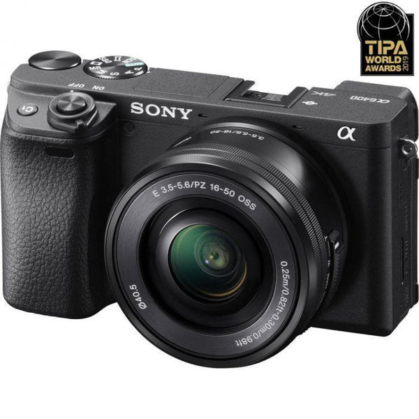 Sony Alpha a6400 Mirrorless Digital Camera with 16-50mm Lens  Cameratek