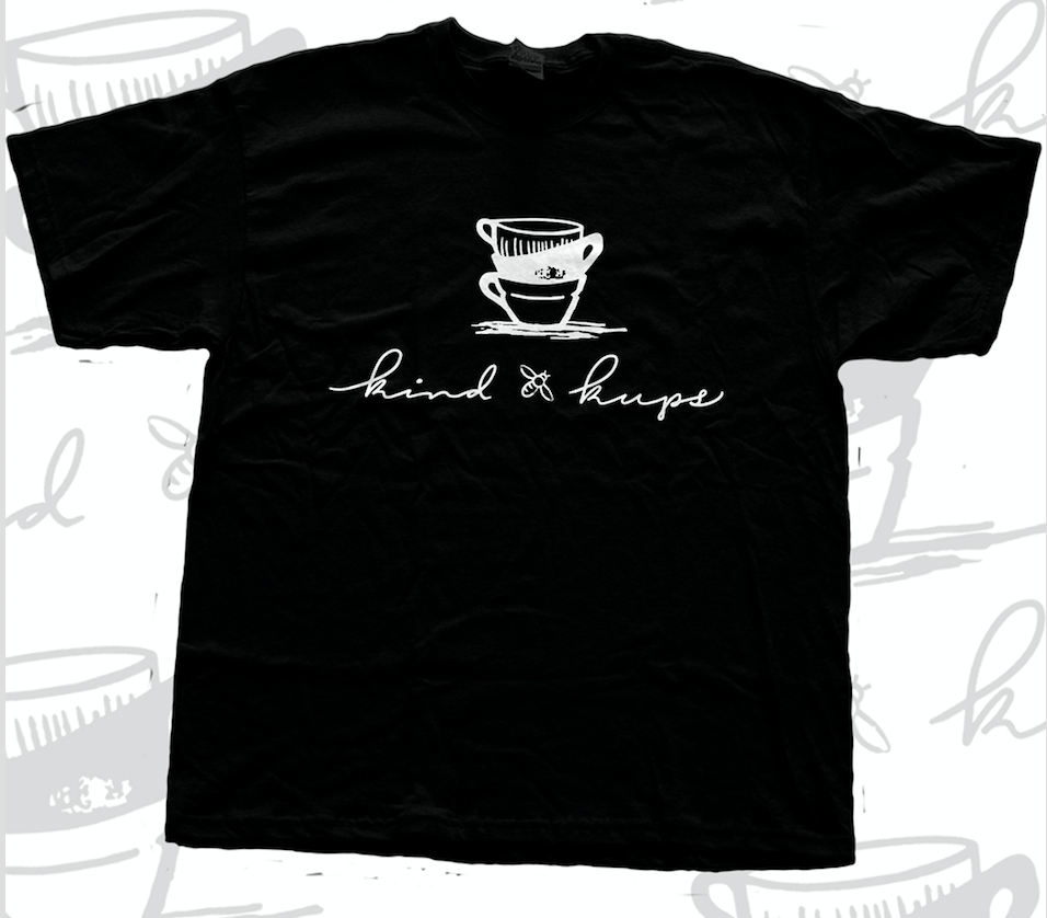 Kind Kups Black Logo Tee