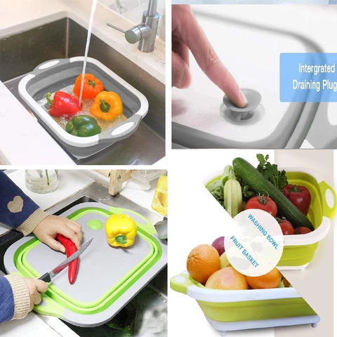 4-IN-1 Collapsible Cutting Board