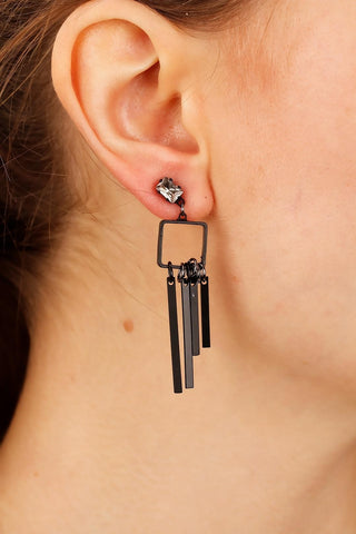 Women's Metal Design Earrings
