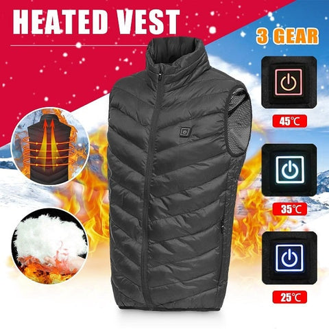 Instant USB Heated Vest