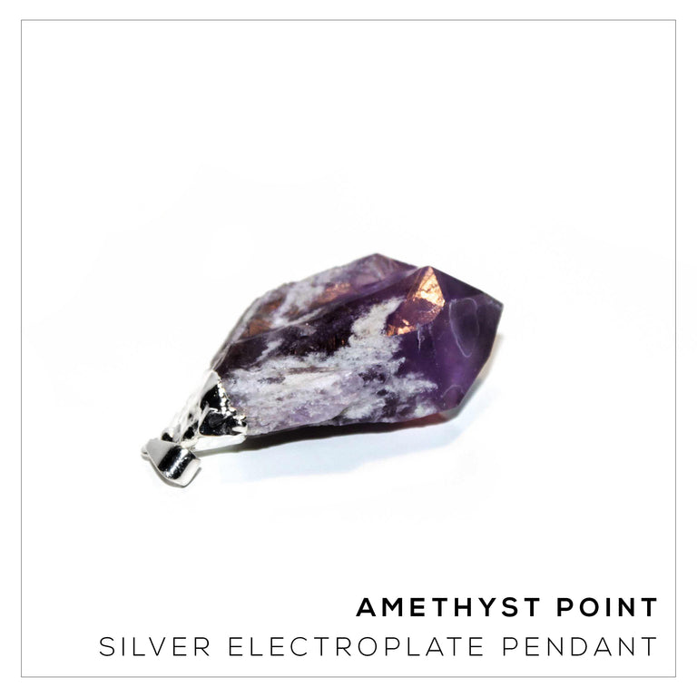 Amethyst Point Silver Small