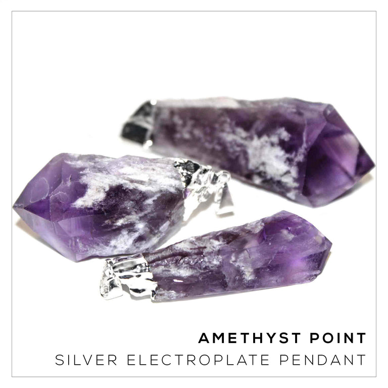 Amethyst Point Silver Variety