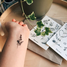 Load image into Gallery viewer, Light Temporary Tattoo Sheet