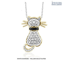 Load image into Gallery viewer, Cat Pendant Necklace in Gold or Silver Accent - Assorted Styles - Area 399 Hachune Rage