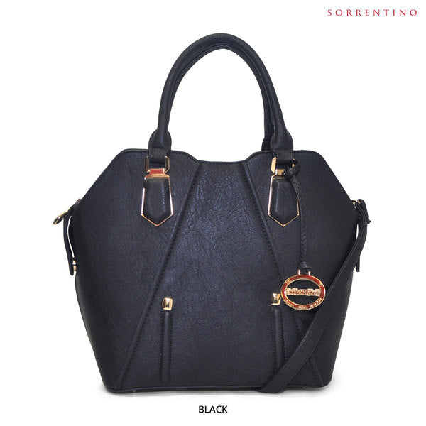Sorrentino No. 819 Medium Haute Tote with Removable Strap - Assorted Colors - Area 399 Hachune Rage