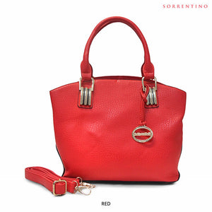 Sorrentino No. 719 Spacious Satchel with Removable Strap - Assorted Colors - Area 399 Hachune Rage