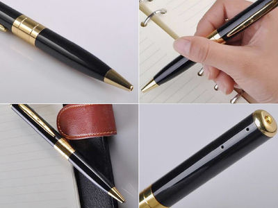 Audio & HD Video Ball-Point Spy Camera Pen - Area 399 Hachune Rage