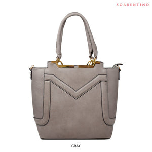 Sorrentino No. 782 Melanie M Designer Tote - Assorted Colors - Area 399 Hachune Rage