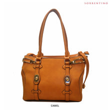 Load image into Gallery viewer, Sorrentino No. 776 Double-Compartment Handbag with Removable Strap - Assorted Colors - Area 399 Hachune Rage