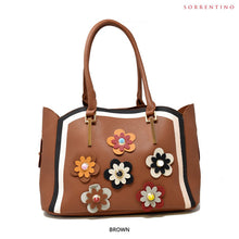 Load image into Gallery viewer, Sorrentino No. Z855 Aurora 2-in-1 Flower Tote & Pouch - Assorted Colors - Area 399 Hachune Rage