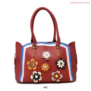 Sorrentino No. Z855 Aurora 2-in-1 Flower Tote & Pouch - Assorted Colors - Area 399 Hachune Rage