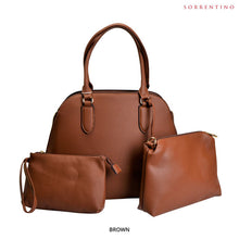 Load image into Gallery viewer, Sorrentino No. 902 3-in-1 Round Top Satchel & Pouches - Assorted Colors - Area 399 Hachune Rage