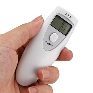 ALCOHOL TESTER BREATHALYZER: Portable LCD Digital Breath Alcohol Analyser Breathalyzer Tester - Area 399 Hachune Rage