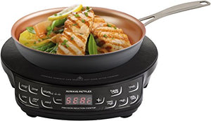 "NuWave PIC Flex Precision Induction Cooktop with Fry Pan - Black - 9"" - Area 399 Hachune Rage"
