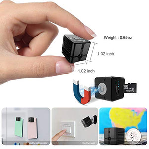 Spy Camera WiFi, Ehomful Mini Wireless Hidden Camera Real 1080P, Auto Night Vision Monochrome Covert,Built-in Magnet,No Lags & No Frozen Streaming,Works with Multiple Viewers - Area 399 Hachune Rage