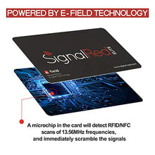 Load image into Gallery viewer, Credit Card Protector - 1 RFID Blocking Card Does All to Block RFID / NFC Signals form Credit Cards and Passports; Fit in Wallet and Purse - Area 399 Hachune Rage