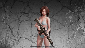 School girl/Zombie Hunter - PlayStation 4 - Area 399 Hachune Rage
