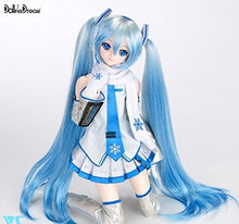 "Load image into Gallery viewer, Dollfie Dream - Hatsune Miku Snow Ver. - Vocaloid 1/3 Scale 23"" Doll - Area 399 Hachune Rage"