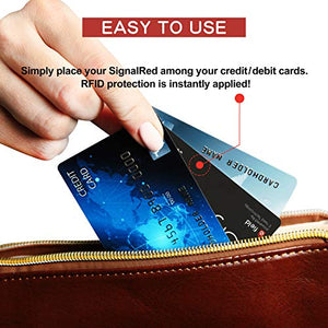 Credit Card Protector - 1 RFID Blocking Card Does All to Block RFID / NFC Signals form Credit Cards and Passports; Fit in Wallet and Purse - Area 399 Hachune Rage