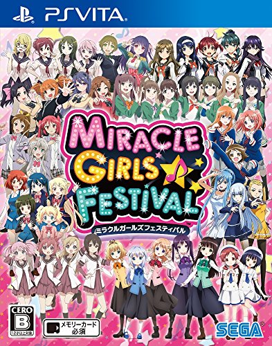 MIRACLE GIRLS FESTIVAL SEGA PS VITA JAPANESE GAME - Area 399 Hachune Rage