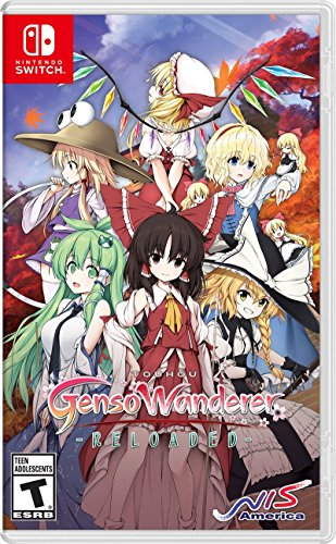 Touhou Genso: Wanderer Reloaded - Nintendo Switch - Area 399 Hachune Rage